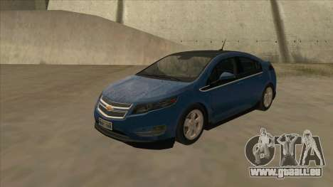 Chevrolet Volt 2011 [ImVehFt] v1.0 pour GTA San Andreas