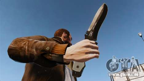 Taktische Messer-v5 für GTA 4 dritte Screenshot