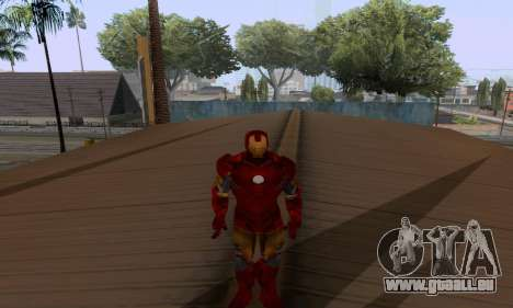 Skins Pack - Iron man 3 für GTA San Andreas neunten Screenshot