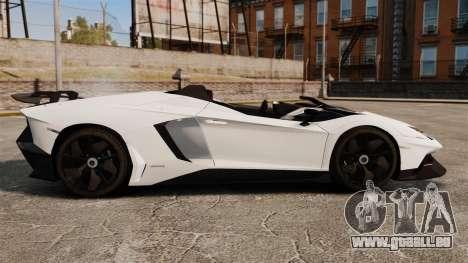 Lamborghini Aventador J 2012 Tricolore für GTA 4 linke Ansicht