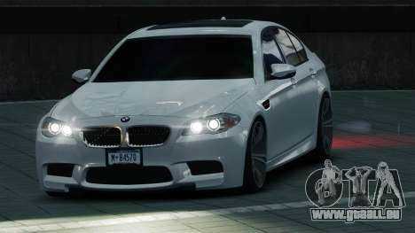 BMW M5 2012 pour GTA 4