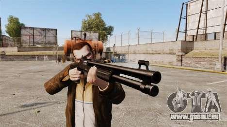 Taktische Schrotflinte Fabarm SDASS Pro Forces v für GTA 4 dritte Screenshot