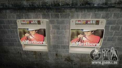 Neue Automaten Zigaretten zu verkaufen für GTA 4