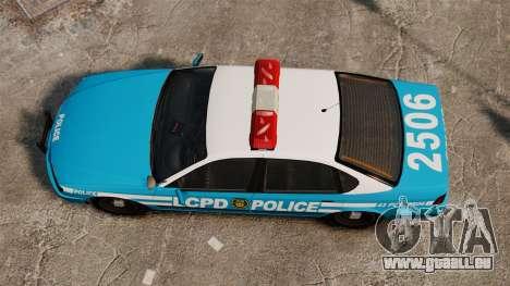 LCPD Police Patrol für GTA 4 rechte Ansicht