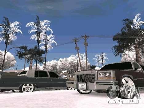 Winter Color Mod pour GTA San Andreas