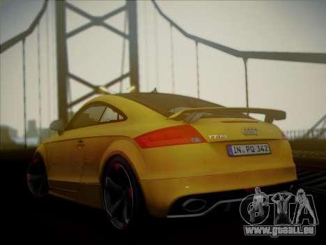 Audi TT RS 2013 pour GTA San Andreas laissé vue