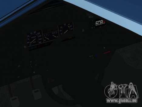 VAZ 2108 une douzaine bleu pour GTA San Andreas vue arrière