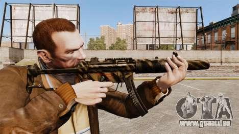 V8 MP5SD Maschinenpistole für GTA 4