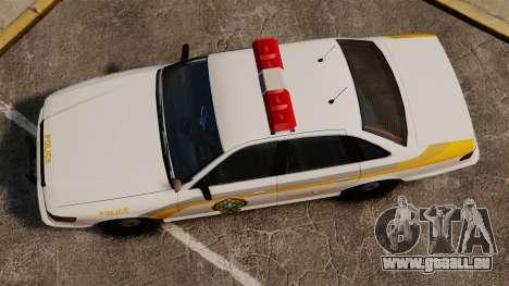 Polizei Quebec für GTA 4 rechte Ansicht