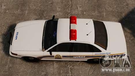 Police de Sherbrooke pour GTA 4 est un droit