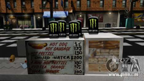 Energy-Drink Monster Energy für GTA 4