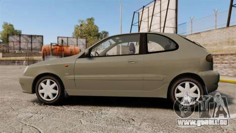 Daewoo Lanos FL 2001 pour GTA 4 est une gauche