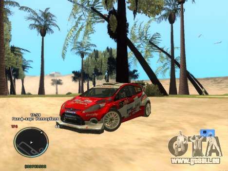Ford Fiesta RS WRC pour GTA San Andreas