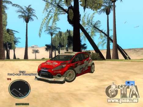 Ford Fiesta RS WRC für GTA San Andreas