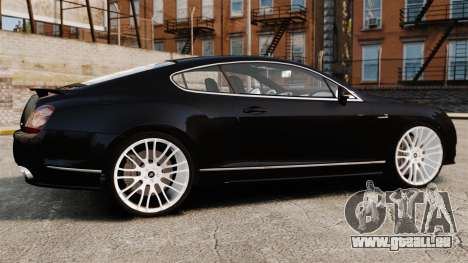 Bentley Continental GT Imperator Hamann EPM für GTA 4 linke Ansicht