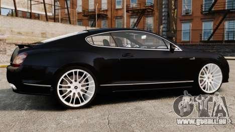 Bentley Continental GT Imperator Hamann EPM pour GTA 4 est une gauche