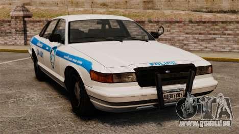 Montreal police v1 pour GTA 4