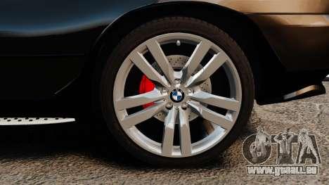 BMW X5 4.8iS v1 pour GTA 4 Vue arrière