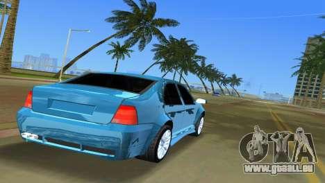 Volkswagen Bora pour GTA Vice City sur la vue arrière gauche