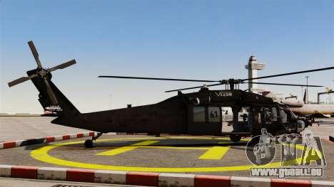 Sikorsky MH-60L Black Hawk für GTA 4 linke Ansicht