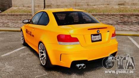 BMW 1M Coupe 2011 Fujiwara Tofu Shop Sticker für GTA 4 rechte Ansicht