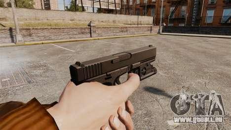 Pistolet Glock 20 pour GTA 4 troisième écran