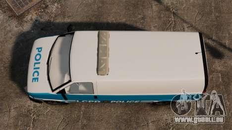 LCPD Police Van für GTA 4 rechte Ansicht