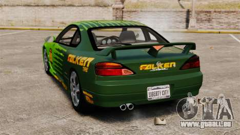 Nissan Silvia S15 v3 für GTA 4 hinten links Ansicht