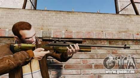 Scharfschützengewehr Sako TRG-42 für GTA 4