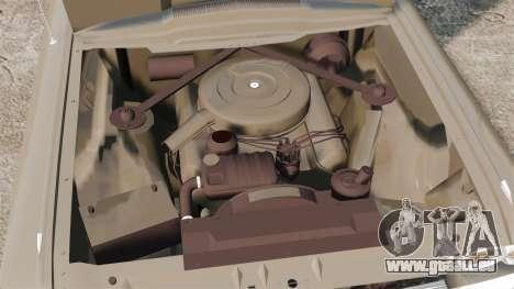 Ford Thunderbird 1964 für GTA 4 Rückansicht