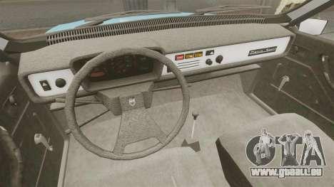 Dacia 1310 Sport v1.2 pour GTA 4 est une vue de l'intérieur
