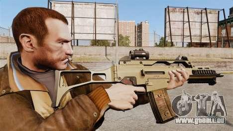 HK G36c pour GTA 4