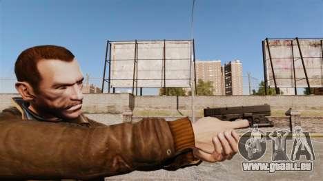 Pistolet Glock 20 pour GTA 4