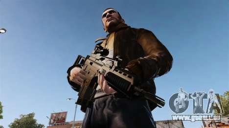 Sturmgewehr HK G36k für GTA 4 dritte Screenshot