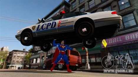 Script pour Superman pour GTA 4 neuvième écran