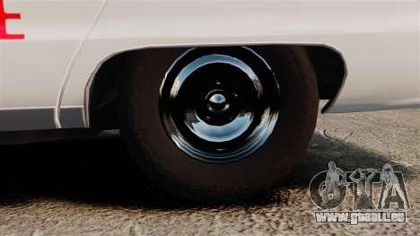 Chevrolet Caprice 1991 [ELS] v2 für GTA 4 Rückansicht