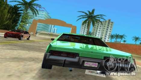 Dodge Monaco Police pour une vue GTA Vice City de la droite