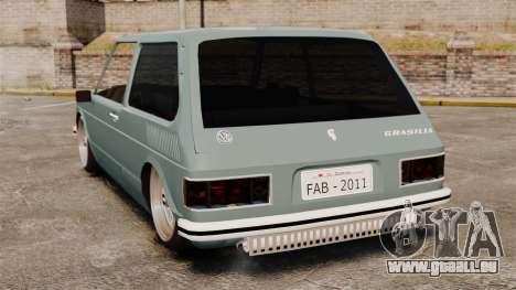 Volkswagen Brasilia für GTA 4 hinten links Ansicht