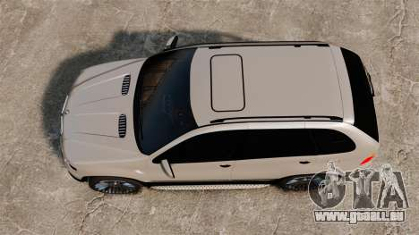 BMW X5 4.8iS v2 pour GTA 4 est un droit