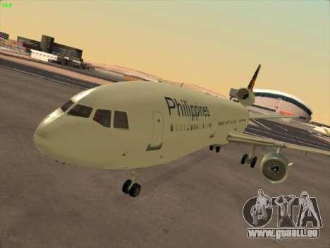 McDonell Douglas DC-10 Philippines Airlines pour GTA San Andreas laissé vue