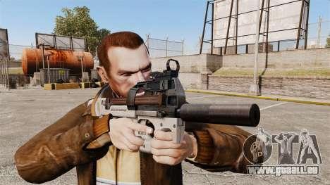 Belge FN P90 pistolet mitrailleur v3 pour GTA 4 troisième écran