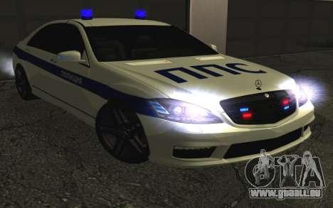 Mercedes-Benz S65 AMG W221 pour GTA San Andreas