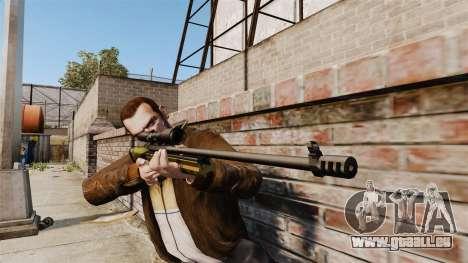 Fusil de précision Sako TRG-42 pour GTA 4 troisième écran