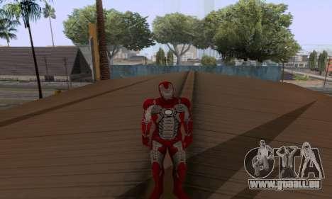 Skins Pack - Iron man 3 pour GTA San Andreas huitième écran
