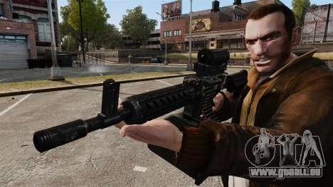 Ares Shrike pour GTA 4 cinquième écran