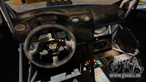 Ford Focus RS Martini WRC pour GTA 4 est une vue de l'intérieur