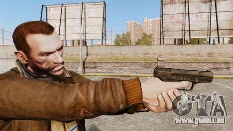 Walther P99 pistolet semi-automatique v4 pour GTA 4