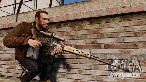 Dragunov sniper rifle v4 pour GTA 4