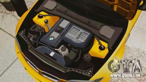 BMW 1M Coupe 2011 Fujiwara Tofu Shop Sticker für GTA 4 Seitenansicht