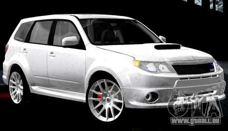 Subaru Forester RRT Sport 2008 v2.0 pour GTA San Andreas salon
